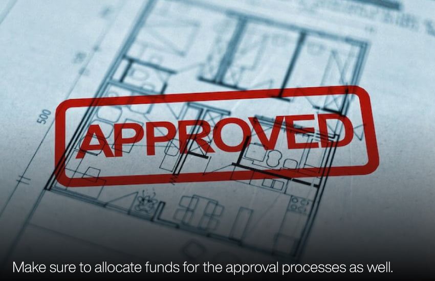 approvals for building a home