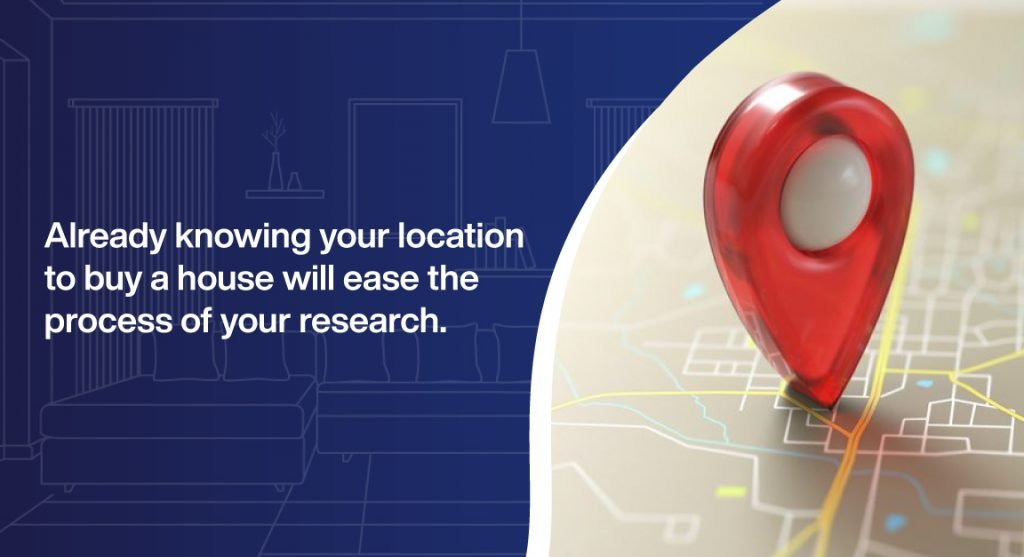 Know the location to buy a house