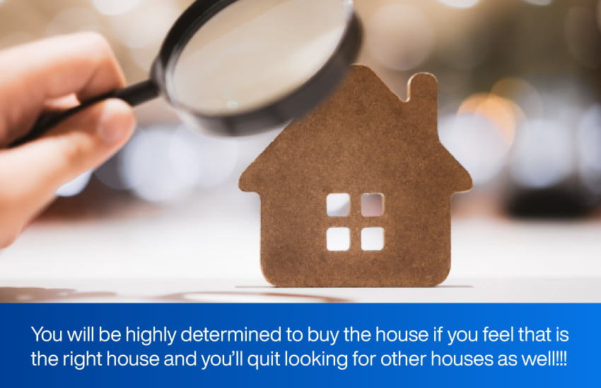 signs of finding your home