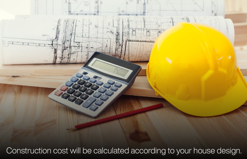 Construction cost to build your own home