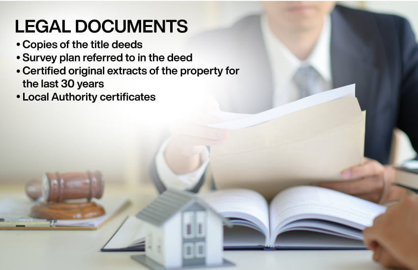 Legal documents for housing loan